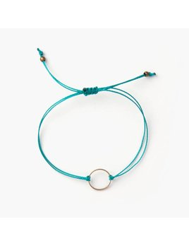 Si Simple Gold and Turquoise Marilou Bracelet