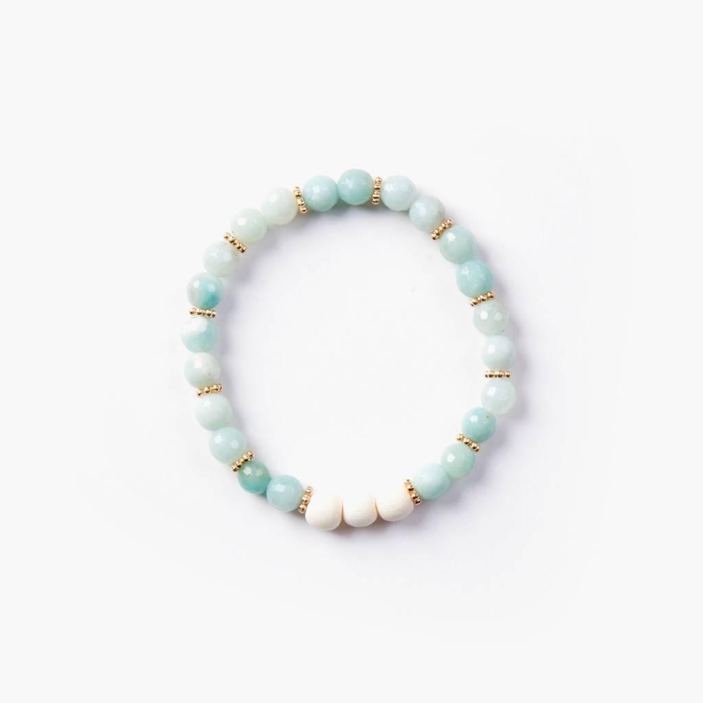 Si Simple Maui Turquoise Bracelet