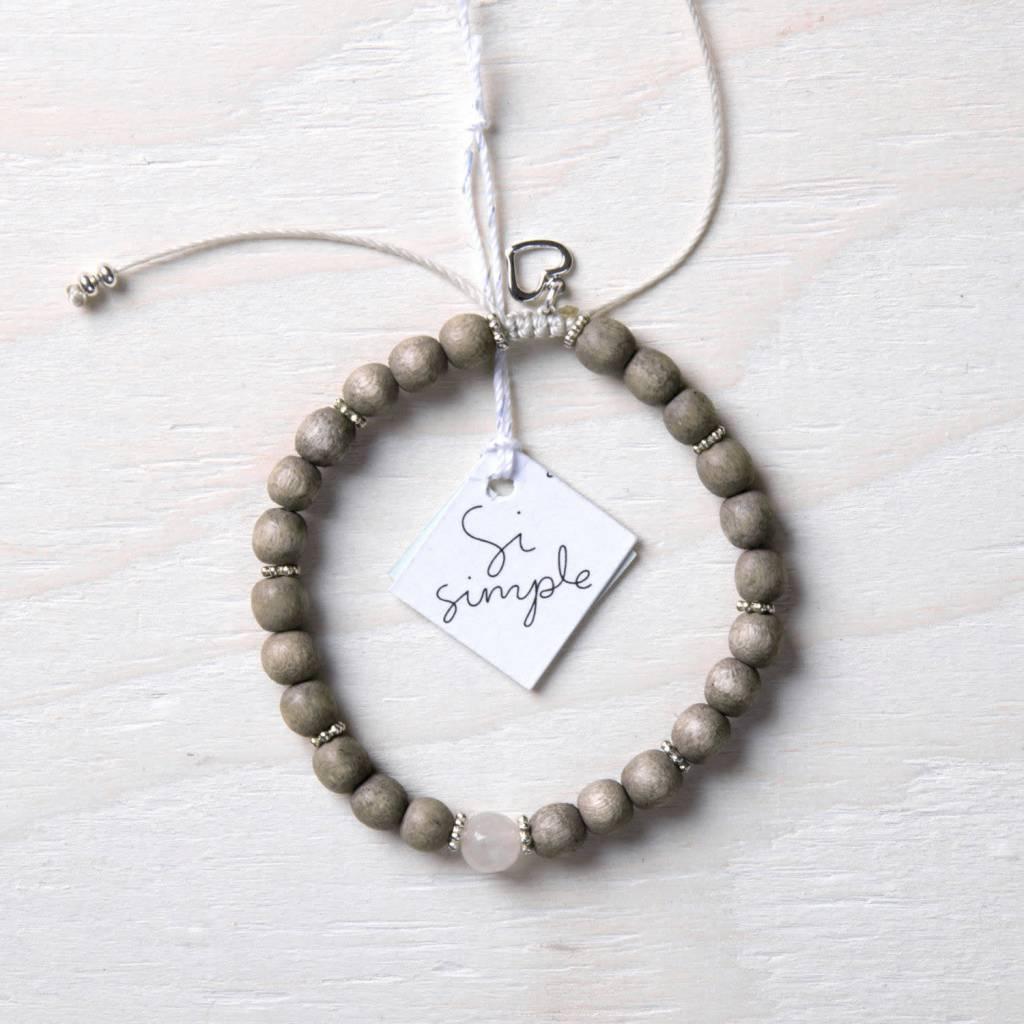 Si Simple Rose Taupe Bracelet