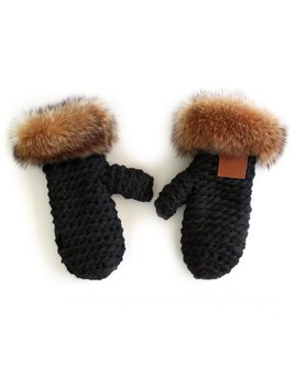 Gibou Tanuki Raccoon Mittens - color choices