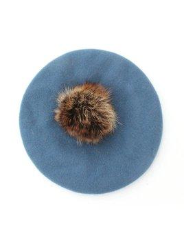 Gibou Fetl & Fur Beret - color choices