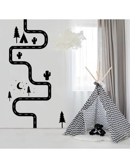 A D ZIF Road - Wall Sticker