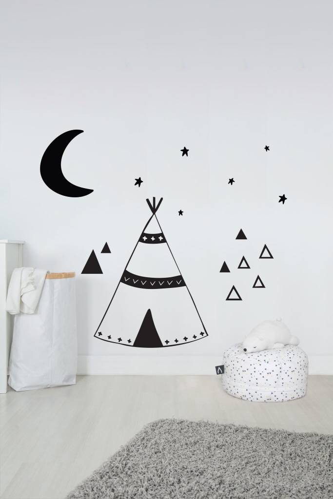 A D ZIF Bigi Tipi Wall Decal