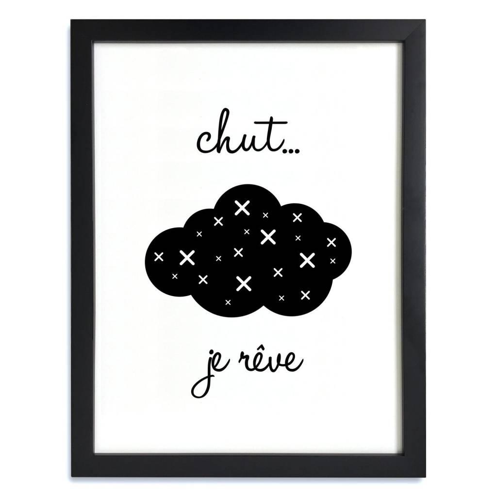 A D ZIF Chut Je Rêve Poster