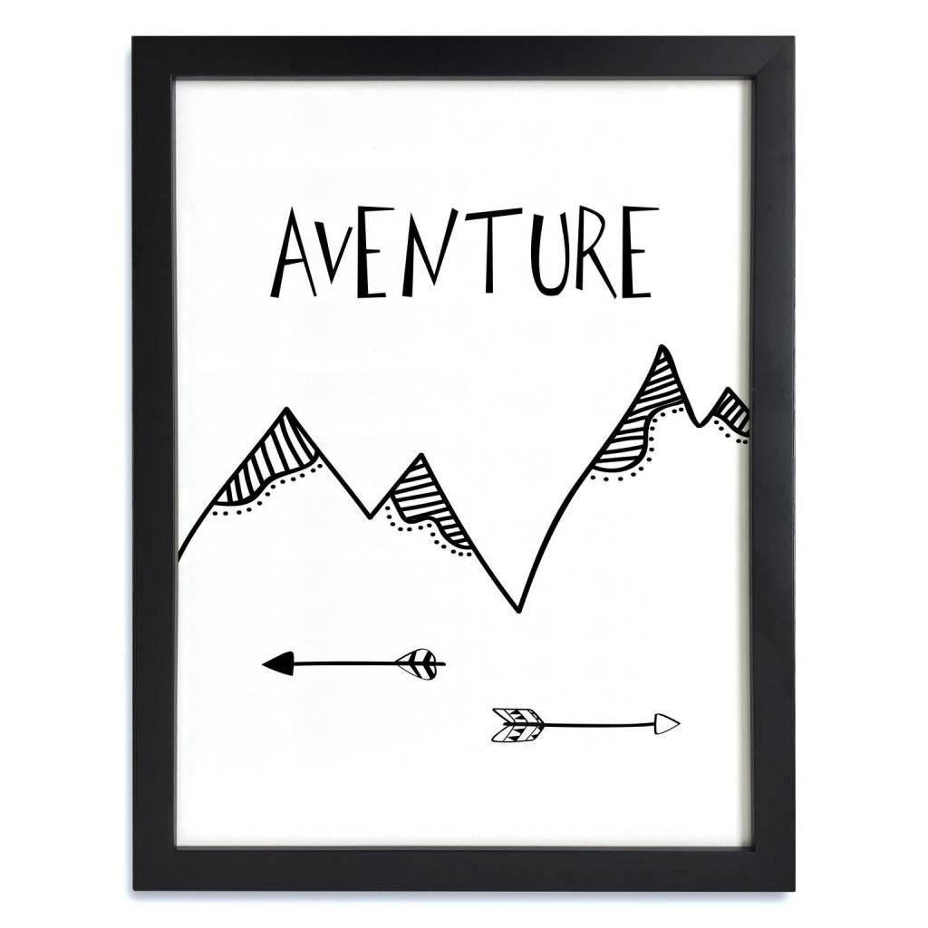 A D ZIF Affiche L'Aventure