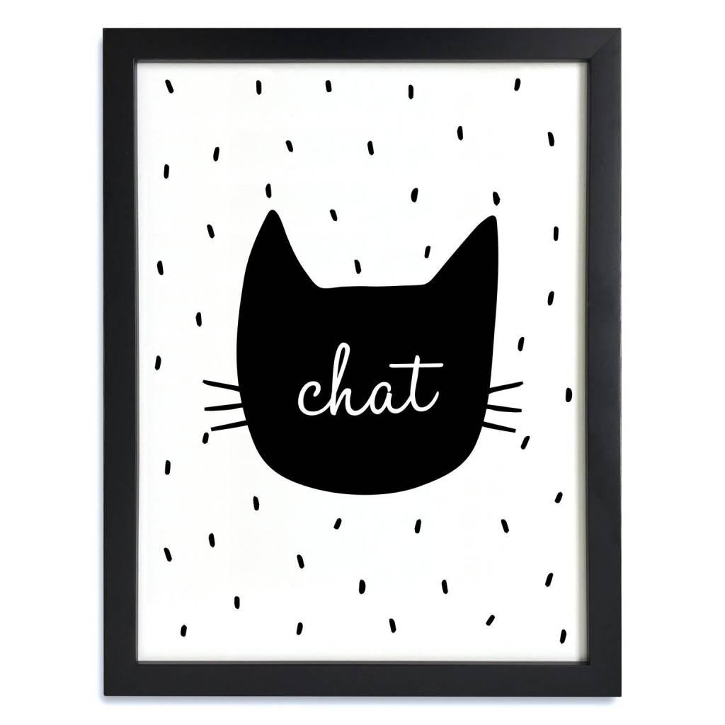 A D ZIF Affiche Le Chat