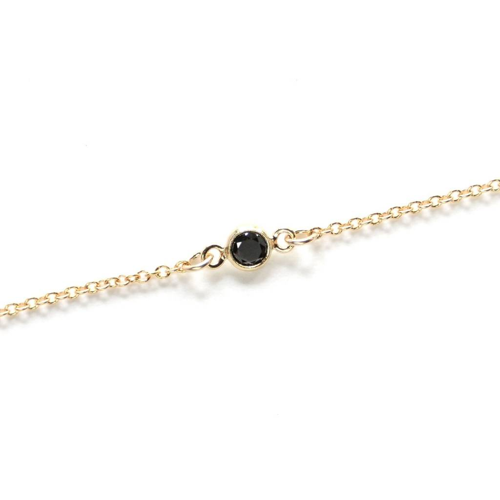 Hart and Stone Gold and Black Ara Bracelet