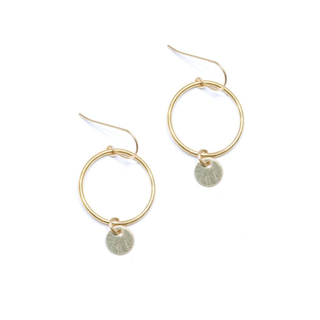 Hart and Stone Buttercup Gold Earrings