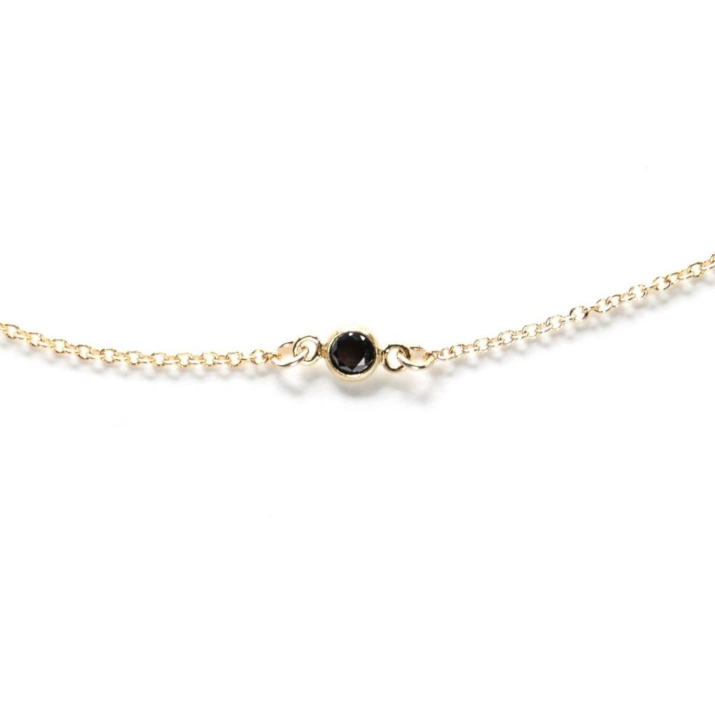 Hart and Stone Collier Choker Ara Or Et Noir