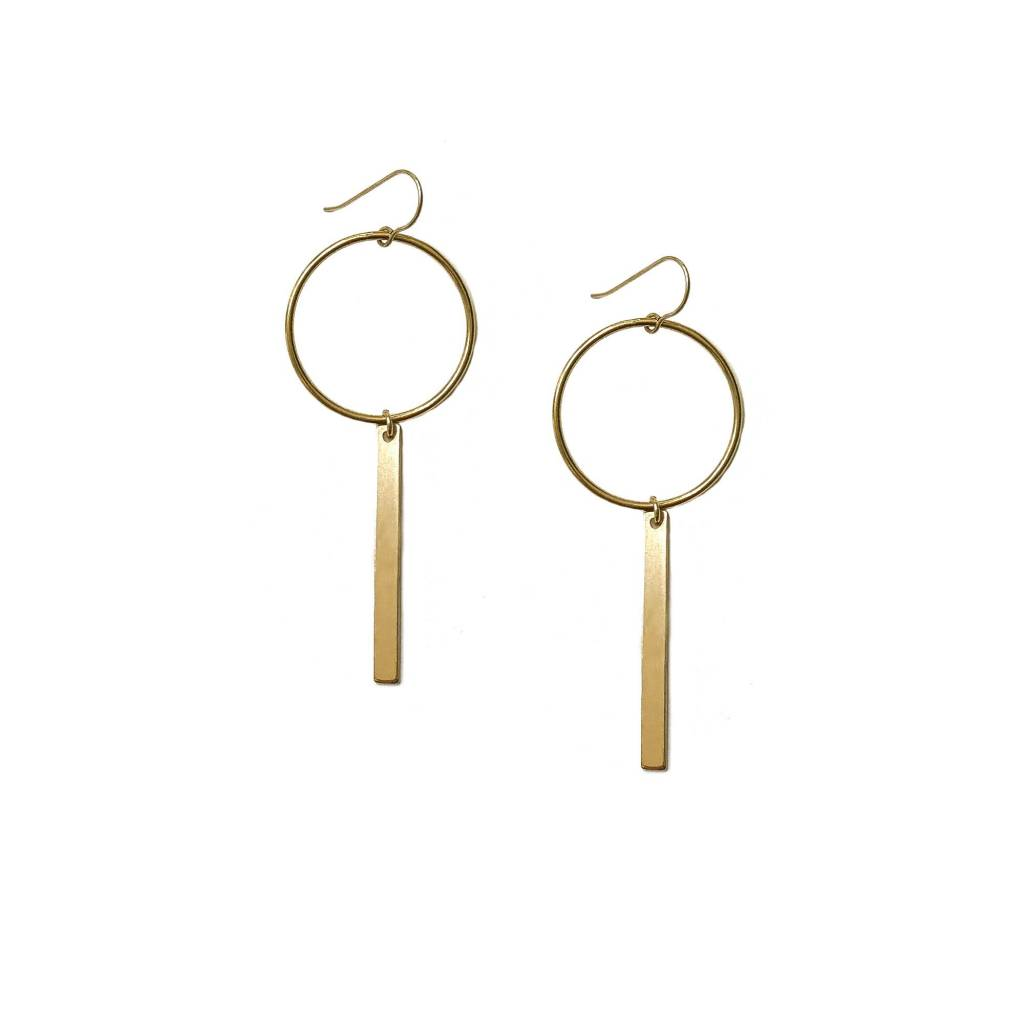 Hart and Stone June Bug Gold Earrings