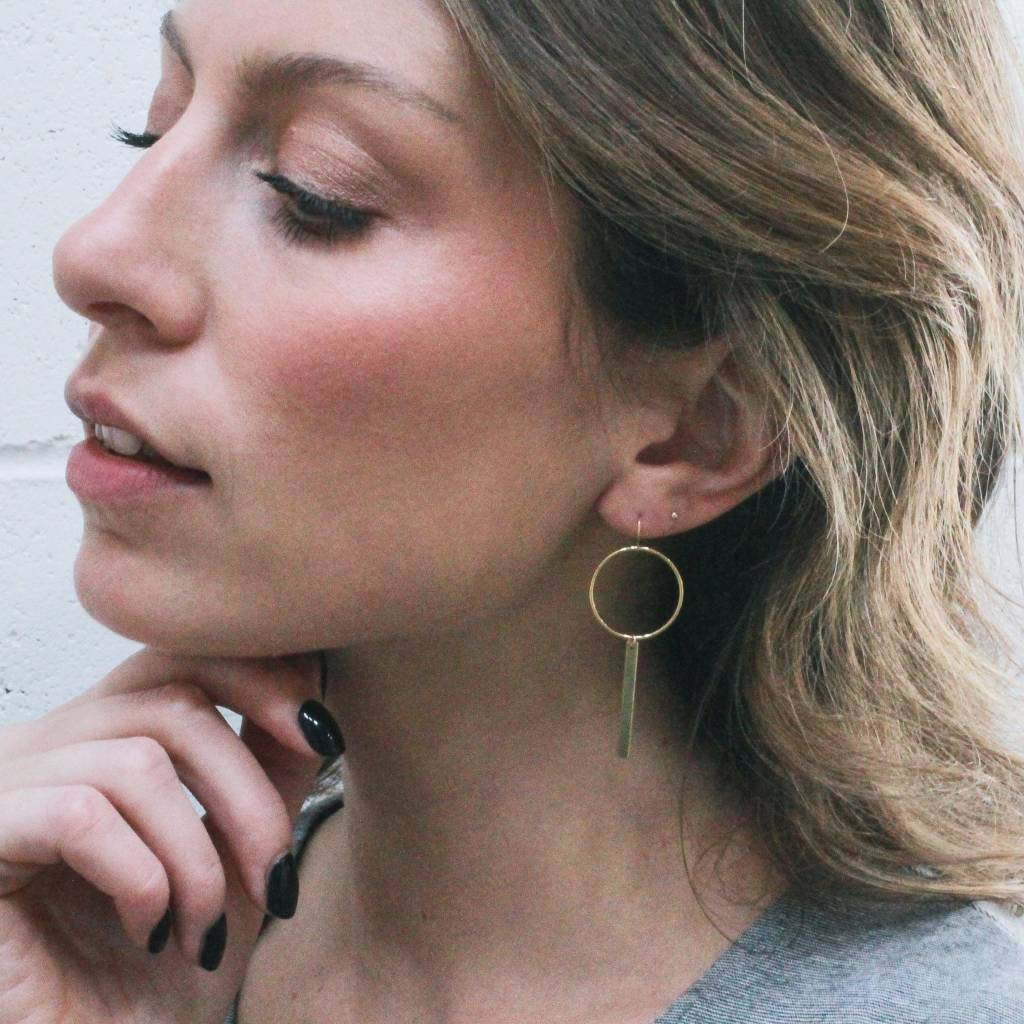 Hart and Stone Boucles d'oreilles June Bug Or