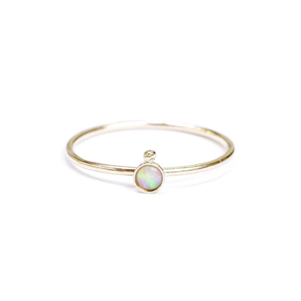 Hart and Stone Bague Opale Satellite