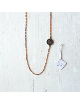 Si Simple Alaia Copper Necklace