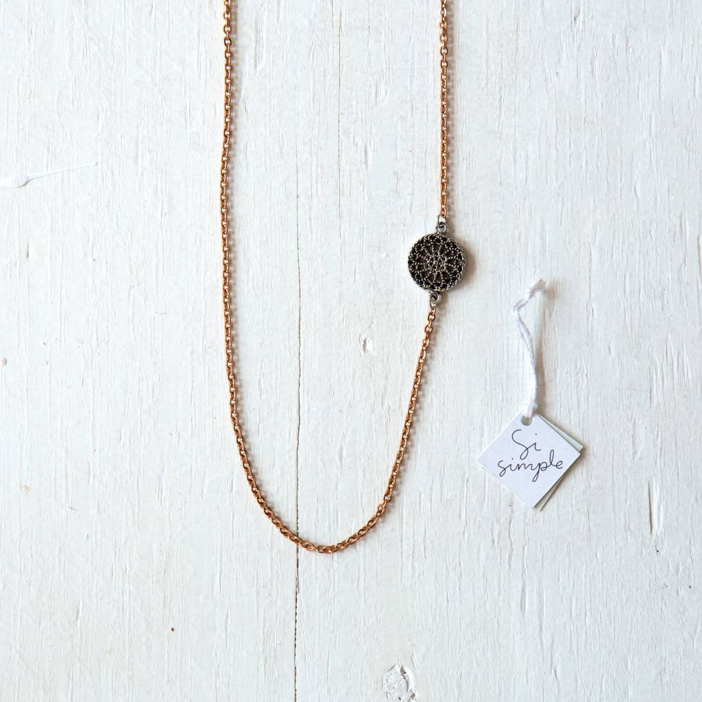 Si Simple Collier Alaia Cuivre