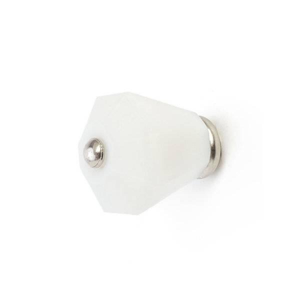 ADV Milk Glass Knob