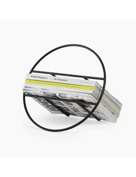 Umbra Hoop Black Magazine Rack