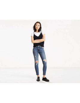 Levis High Rise Skinny Jeans
