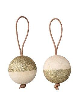 Bloomingville Gold Glitters Ornament