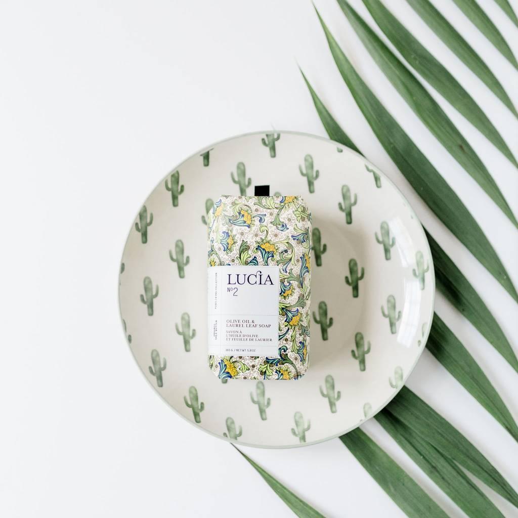 Design Home Assiette Ronde Cactus