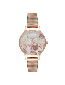 Olivia Burton Floral Marble Watch