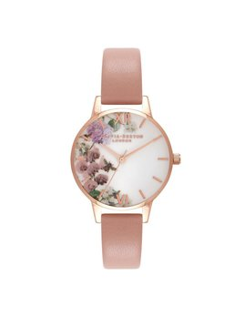 Olivia Burton Montre Jardin Enchanté Dusty Pink
