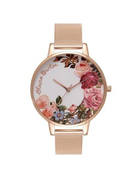 Olivia Burton Pink English Garden Watch