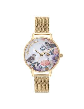 Olivia Burton English Garden Gold Watch