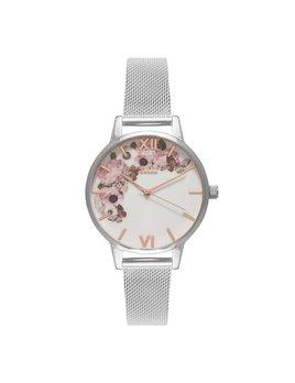 Olivia Burton Signature Silver Watch