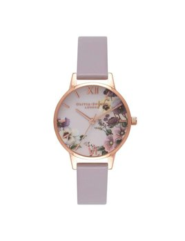 Olivia Burton Rose Gold Lilac Watch
