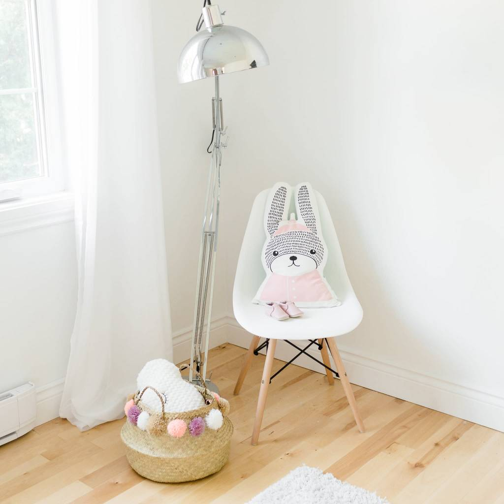 Design Home Pink Rabbit Pillow