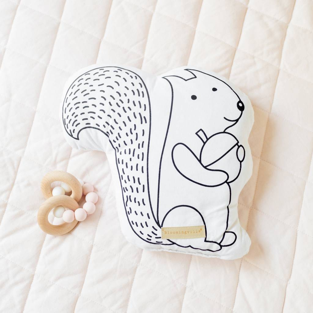 Design Home Squirrel Pillow