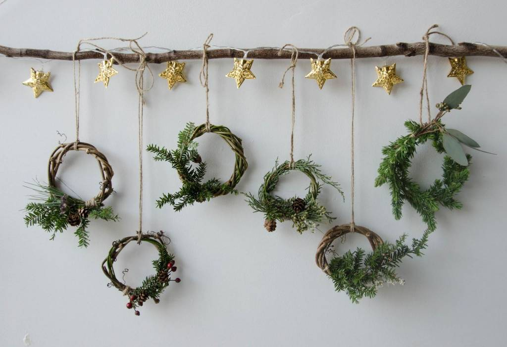Mini Couronne de Noël