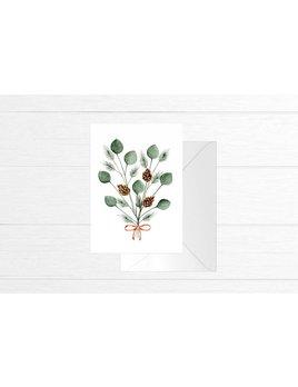 Fla Fla Pine & Eucalyptus Card