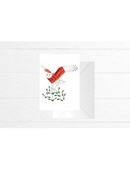 Fla Fla Snow Owl Card