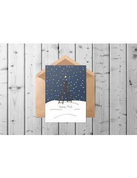 Fleur Maison Starlit Sky Greeting Card
