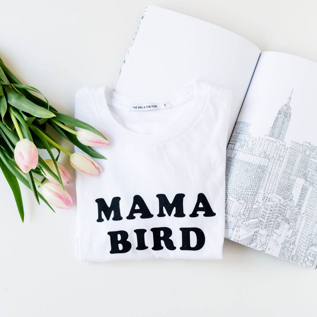 The Bee & the fox Mama Bird Top