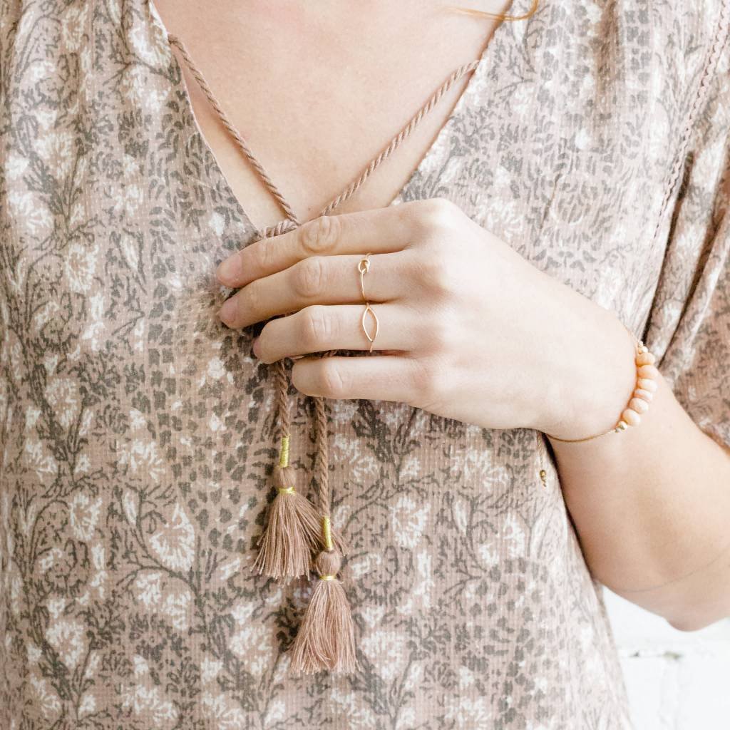 Le Cubicule Gold Filled Regular Knot Ring