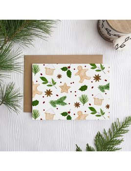 Joannie Houle Christmas Cookies Card