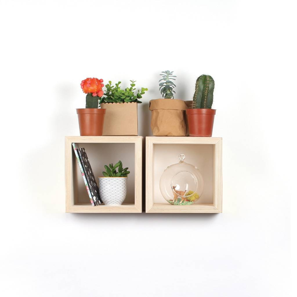 A D ZIF Cube Shelf - Small