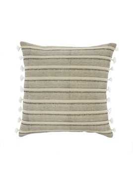 Indaba Tan Stripes Pillow