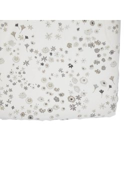 Pehr Design Monochrome Meadow Crib Sheet