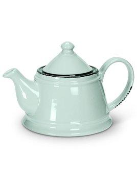 Abbott Enamel Mint Teapot