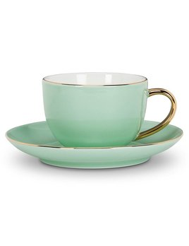 Abbott Evelyn Mint Cup & Saucer