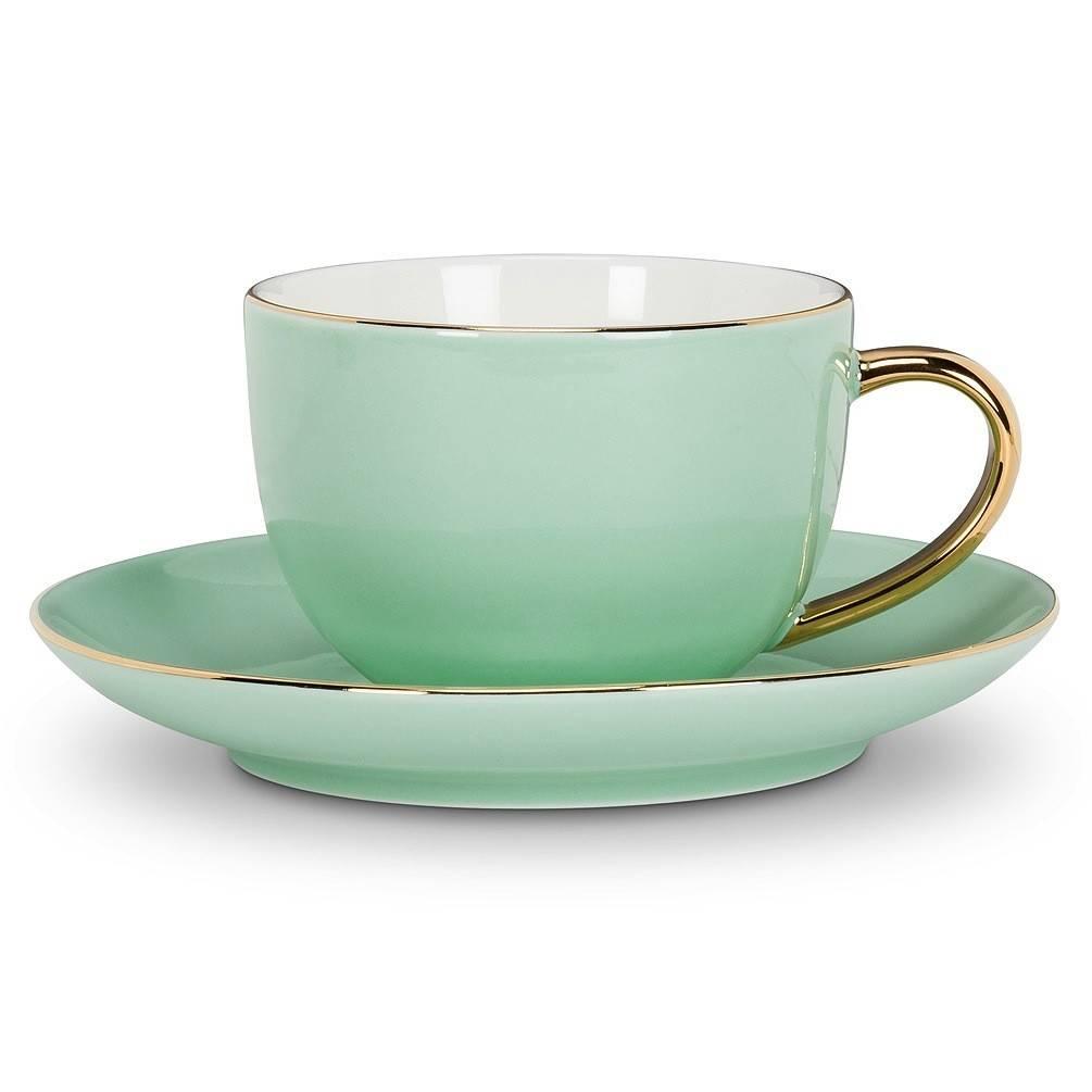 Abbott Evelyn Mint Cup & Saucer