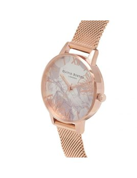 Olivia Burton Abstract Floral Watch
