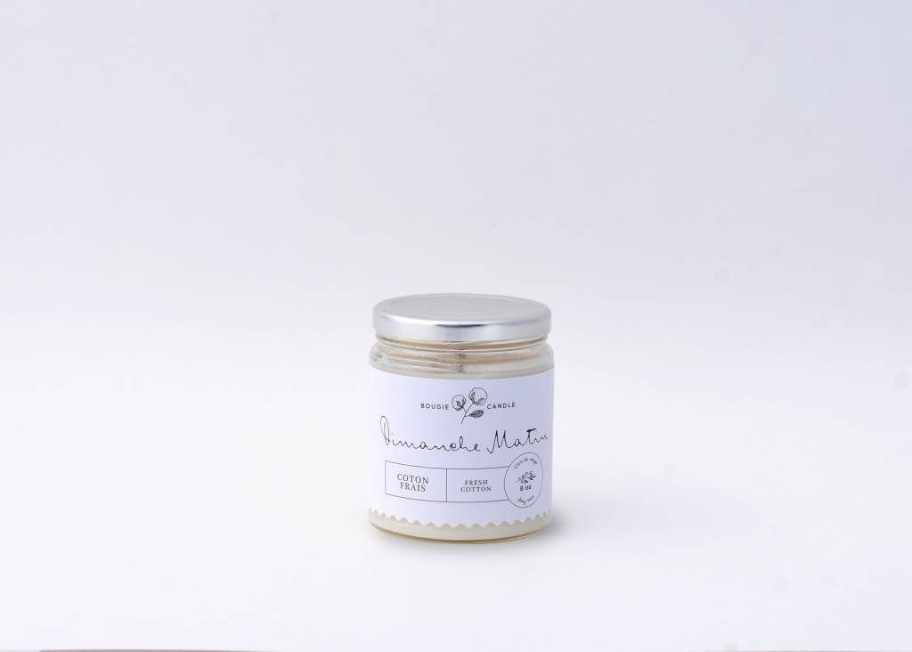 Dimanche Matin Fresh Cotton Candle