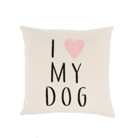 Indaba I Love My Dog Pillow