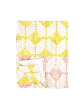 Indaba Pink & Yellow Throw