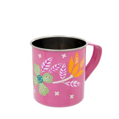 Indaba Pink Blooming Mug