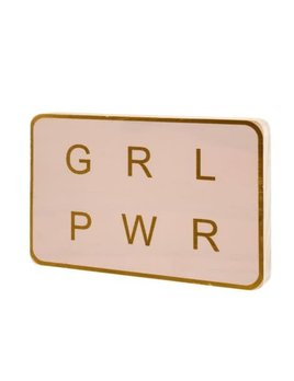 Indaba Panneau Girl Power